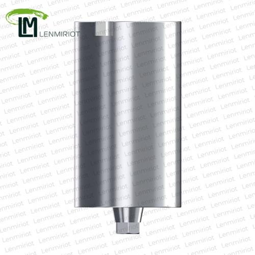 Заготовка индивидуального абатмента D=11.5 мм для холдера ADM, совместимая с Osstem Regular (4.0/4.5/5.0), включая 1 винт, производство lenmiriot