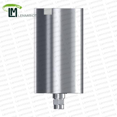 Заготовка индивидуального абатмента D=11.5 мм для холдера MEDENTIKA, совместимая с XiVE 3.8, включая 1 винт, производство lenmiriot