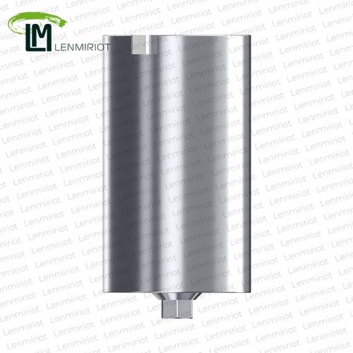 Заготовка индивидуального абатмента D=11.5 мм для холдера MEDENTIKA, совместимая с BEGO Semados 3.25/3.75, включая 1 винт, производство lenmiriot