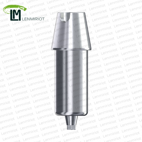 Заготовка индивидуального абатмента D=12 мм для холдера ZIRKONZAHN, совместимая с ASTRA TECH 4.5/5.0, включая 1 винт, производство lenmiriot