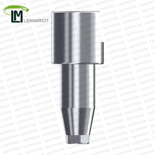 Скан боди, совместимое с Impro, Dentis Regular, Implantium, MegaGen AnyOne, NeoBiotech 4.3, латунь, включая винт, производство Lenmiriot