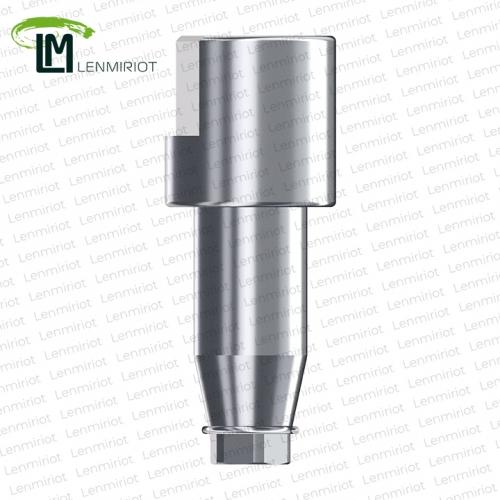 Скан-боди, совместимое с NobelActive RP (4.5), NobelReplace Conical Connection RP (4.3), нержавеющая сталь, включая 1 лабораторный винт, производство и разработка Lenmiriot